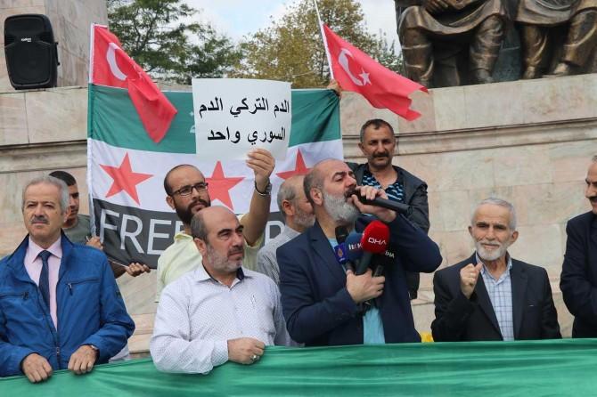 Arap derneğinden sınır ötesi harekâta destek