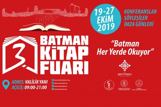 3. Batman Kitap Fuarı hazırlık toplantısı yapıldı