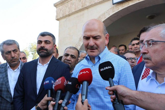 Bakan Soylu: Mardin'e 300 havan mermisi atıldı