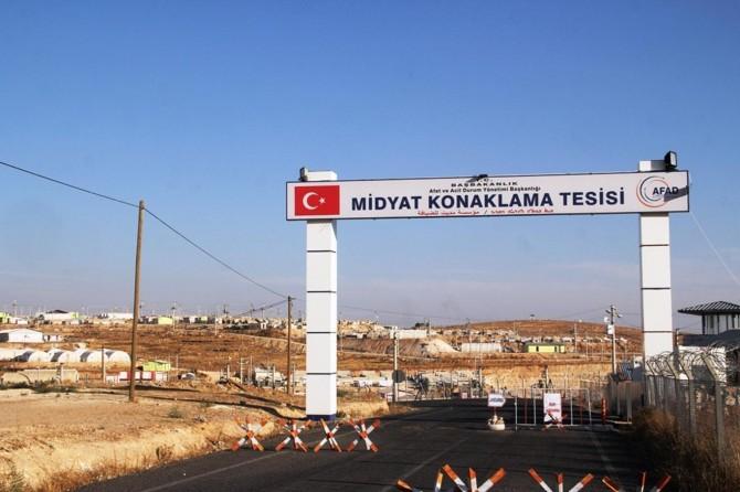 Midyat geçici konaklama kampı misafirlere tahsis edildi