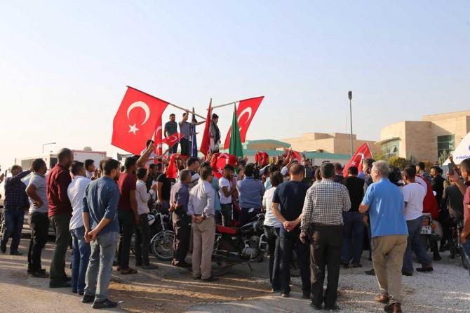 Tel Abyad'ın kontrol altına alınması sevinçle karşılandı