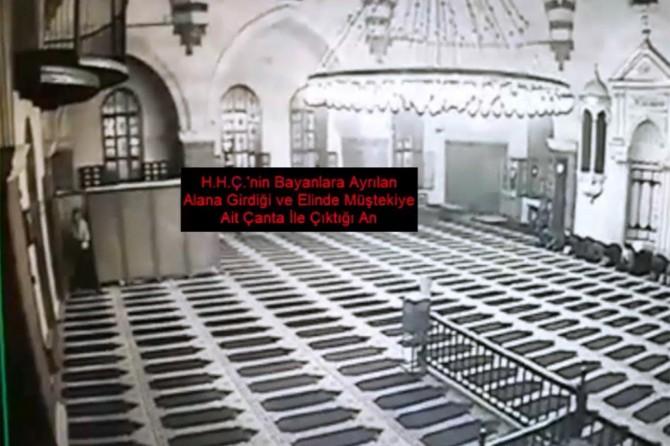 Gaziantep'te Camide namaz kılan turistin çantasını çalan şüpheliler yakalandı