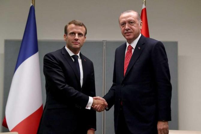 Cumhurbaşkanı Erdoğan, Fransa Cumhurbaşkanı Macron ile telefonla görüştü