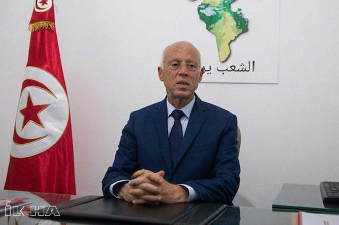 Tunisians celebrate Kais Saied's landslide victory