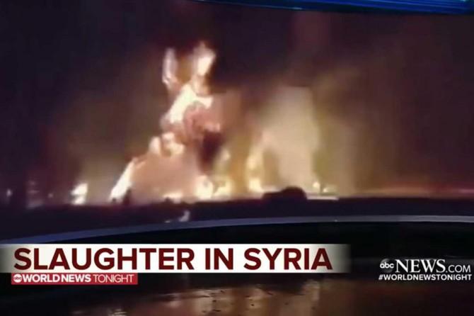 ABD'li ABC televizyonu harekata ilişkin sahte görüntü verdi