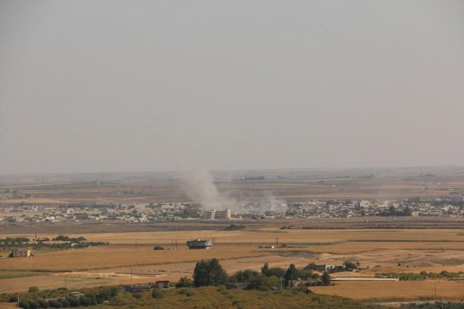 Resulayn'daki PKK/PYD-YPG karargâhı bombalanıyor