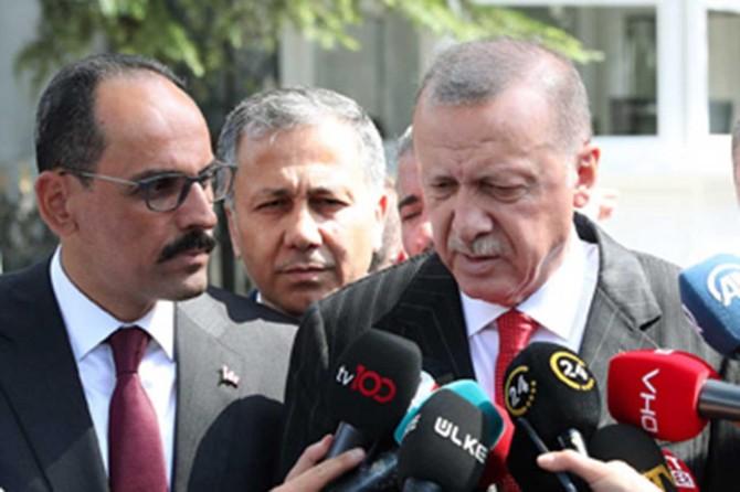 Cumhurbaşkanı Erdoğan: Güvenli bölgeden çekilme başladı