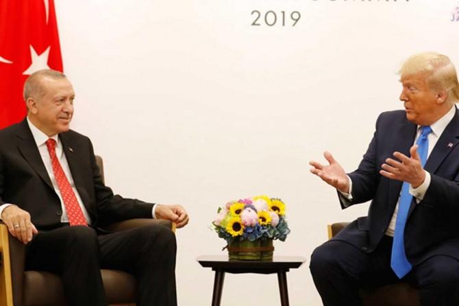 Trump: Erdoğan'la telefon görüşmesi yaptım