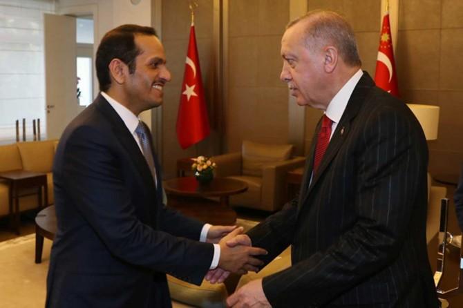 Cumhurbaşkanı Erdoğan, Katar Başbakan Yardımcısı Sani'yi kabul etti