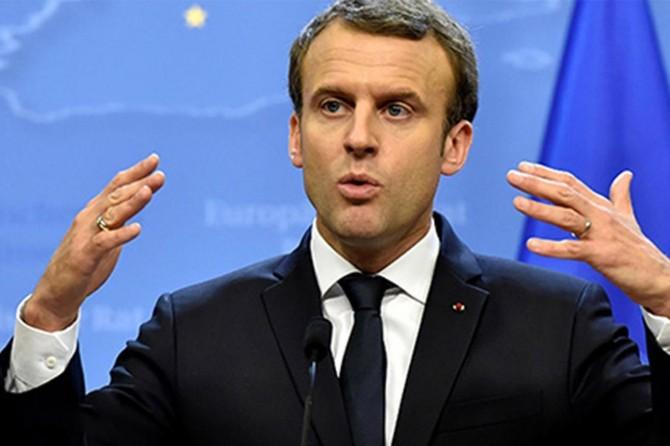 Macron: Bölgede Rusya Türkiye ve İran gibi ülkelerin sözü geçiyor