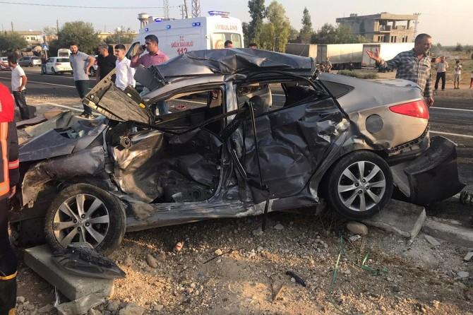 Nusaybin'de kaza: 1 ölü, 7 yaralı