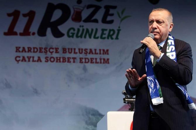 Erdoğan: Anlaştığımız hususlarda herhangi bir eksiklik olursa tekrar başlayacağız