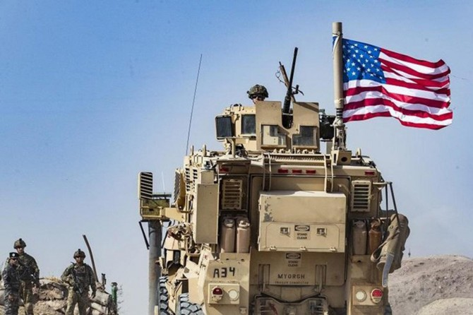 US military vehicles pelted with rotten fruit and stones by Kurdish people