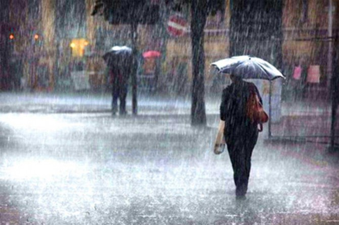 Birçok bölgede sağanak yağış bekleniyor