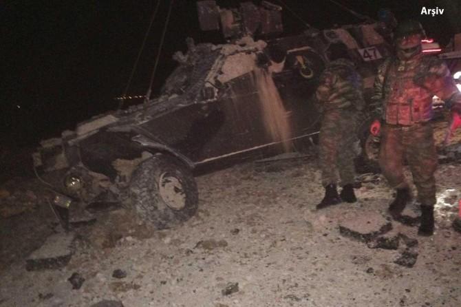 Roketli saldırıda yaralanan asker hayatını kaybetti