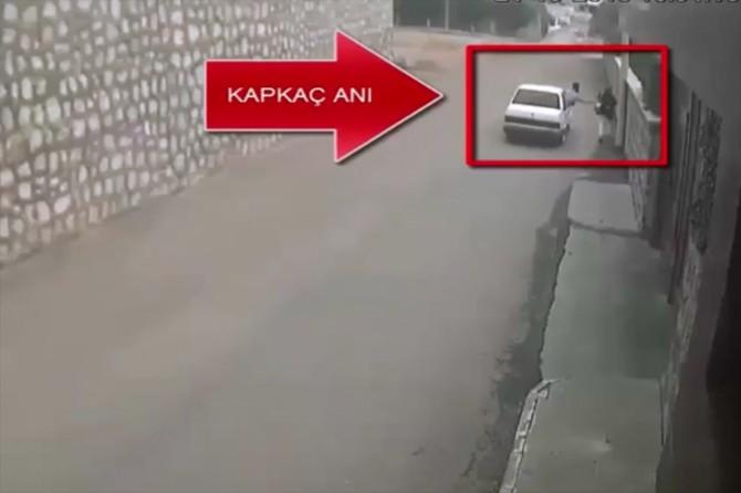 Plakasız araçlarla kapkaç yapan şüpheliler yakalandı