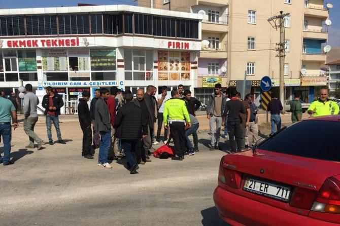 Kovancılar'da otomobilin çarptığı yaya yaralandı