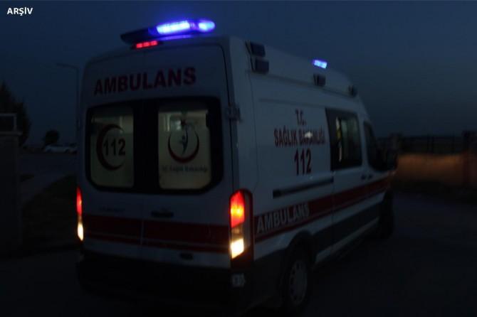 İşçileri taşıyan minibüs takla attı: 14 yaralı