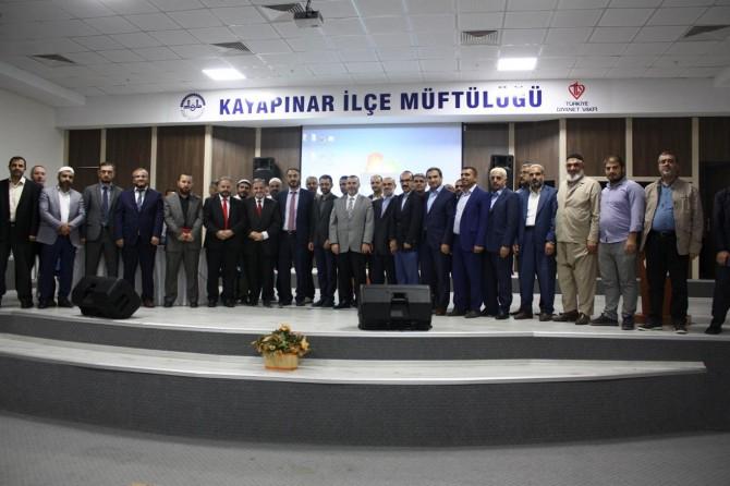 Diyarbakır'da Bilgi ve Tecrübe Paylaşımı Programı düzenlendi