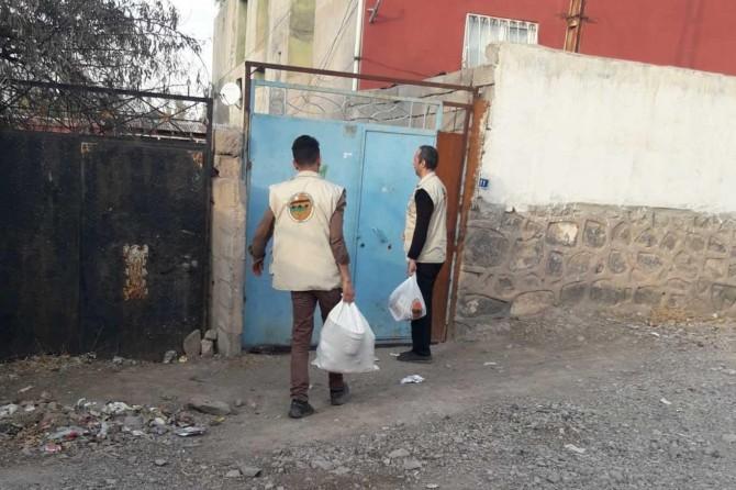 Doğubayazıt Umut Kervanı yardımlarını sürdürüyor