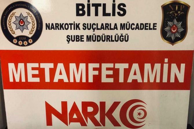 Bitlis'te uyuşturucu ele geçirildi