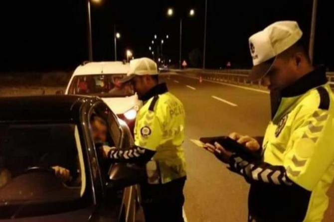 Gaziantep'te 2 bin 204 sürücüye para cezası verildi