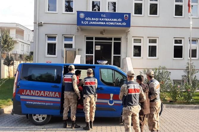 11 yabancı uyruklu şahıs yakalandı