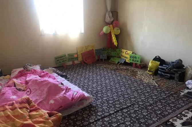 Lösemi hastasına ortopedik yatak hediye edildi