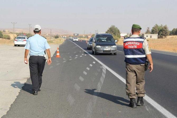 Gaziantep'te denetimlerde 125 araç trafikten men edildi