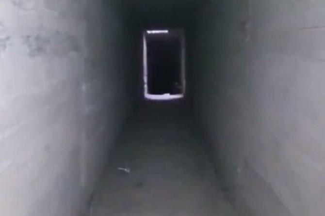 Tel Abyad'da PKK/YPG'ye ait tünel tespit edildi