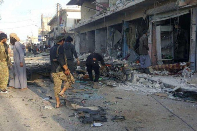 Tel Abyad'da bombalı saldırı: 10 ölü