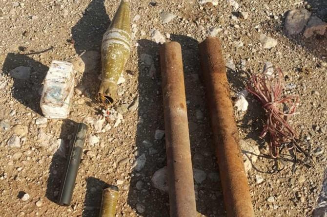 PKK'nin köy yoluna döşediği EYP imha edildi