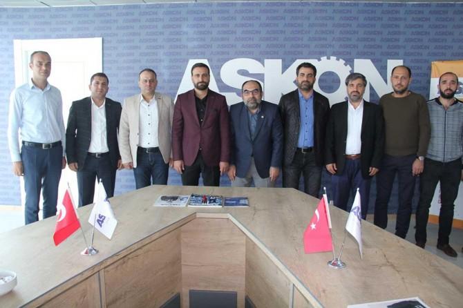 HÜDA PAR Diyarbakır İl Başkanından iş derneklerine ziyaret