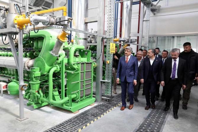 Van Büyükşehir Belediyesi çöpten elektrik üretimine başladı