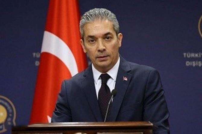 Dışişleri Bakanlığı: Yunanistan'ın Müslümanları imha etmesi çok iyi bilinen bir gerçektir