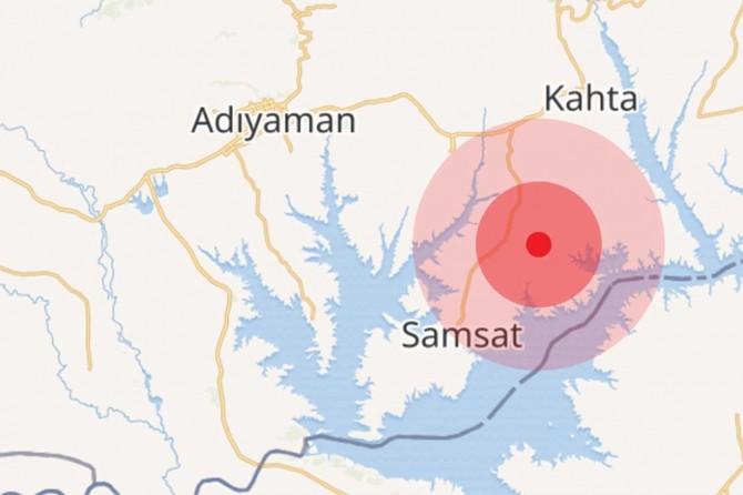 Adıyaman'da 3.7 büyüklüğünde deprem