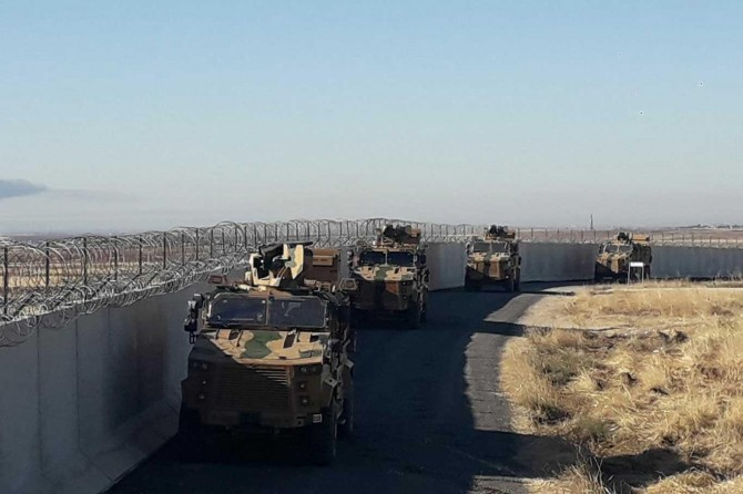 Turkey-Russia begin third joint patrols in northern Syria, Turkish Defense Ministry says