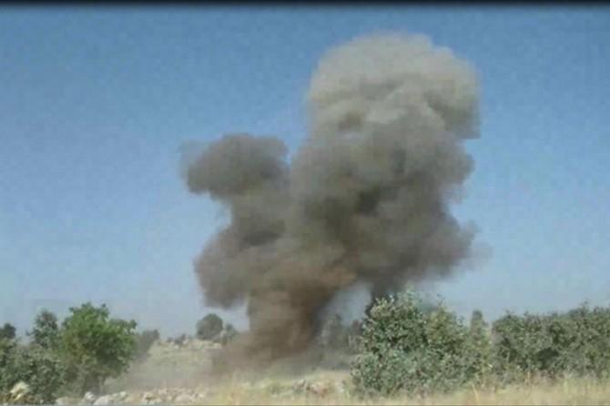 Mardin'de el yapımı patlayıcı imha edildi