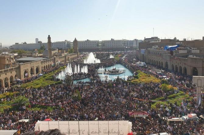 Erbil'de Mevlid-i Nebi etkinlikleri