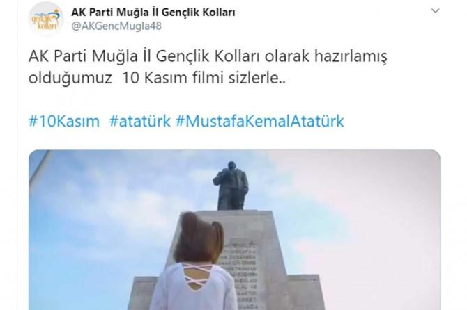 AK Parti gençlik kollarından tepki çeken 10 Kasım filmi