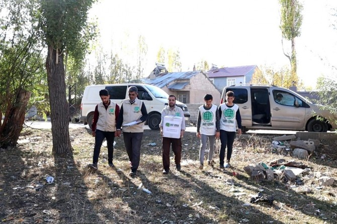 Ağrı Umut Kervanı ekim ayı raporunu açıkladı