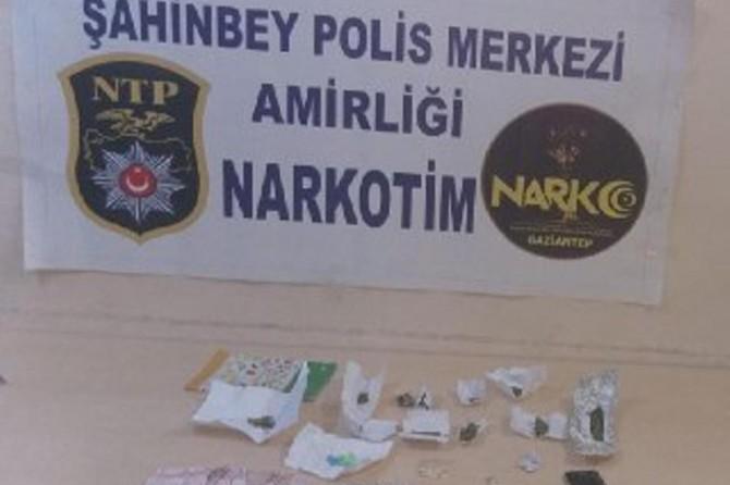 Uyuşturucu ve hırsızlık operasyonu: 8 gözaltı