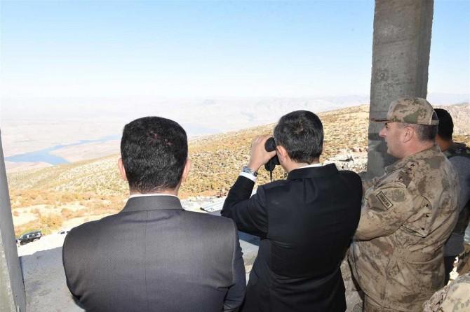 Hasankeyf kırsalında PKK'ye ait 4 sığınak imha edildi