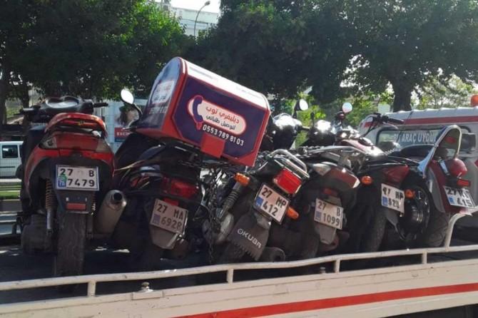 Kasksız motosiklet kullanan sürücülere ceza