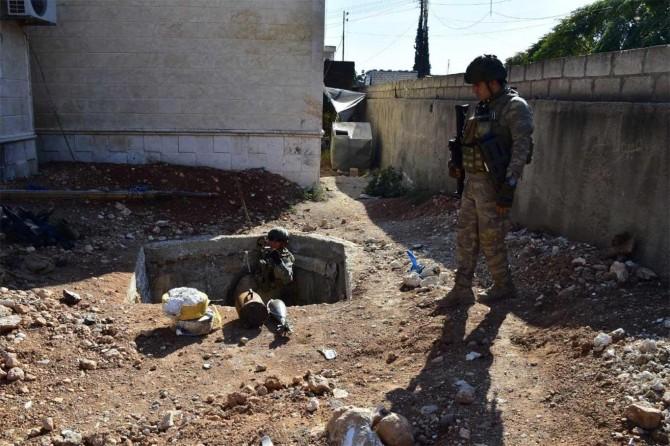 Suriye'de 923 EYP ve 337 mayın etkisiz hale getirildi