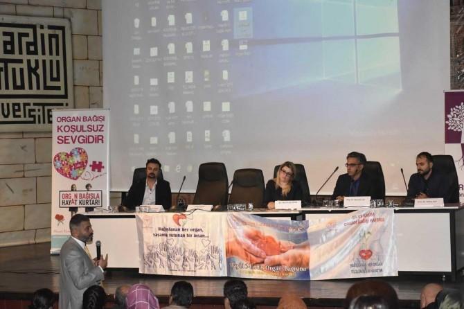 """Mardin'de """"Haydi Mardin Organ Bağışına"""" konferansı"""