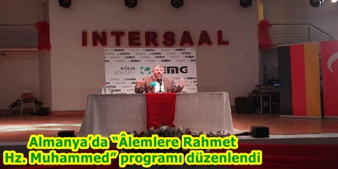 """Almanya'da """"Âlemlere Rahmet Hz. Muhammed"""" programı düzenlendi"""