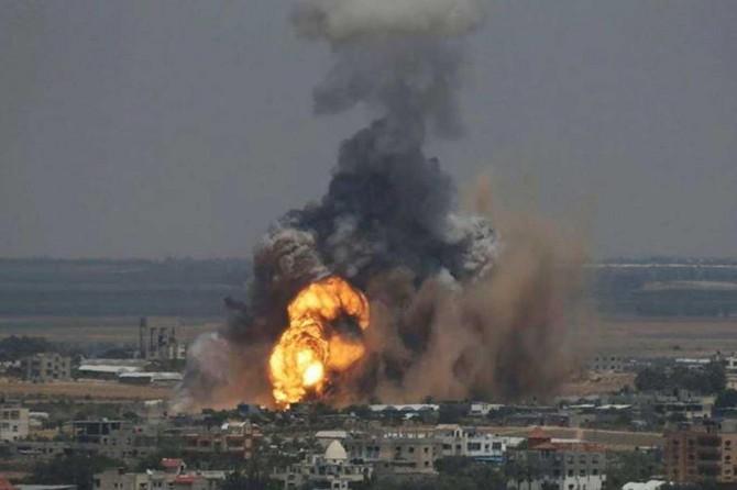 Gazze'ye düzenlenen saldırılarda şehid sayısı 20'ye yükseldi