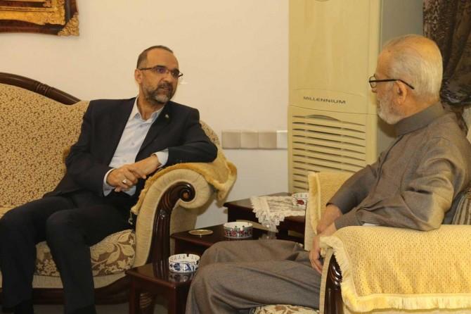 HÜDA PAR Genel Başkanı Sağlam Erbil'de ziyaretlerine devam ediyor