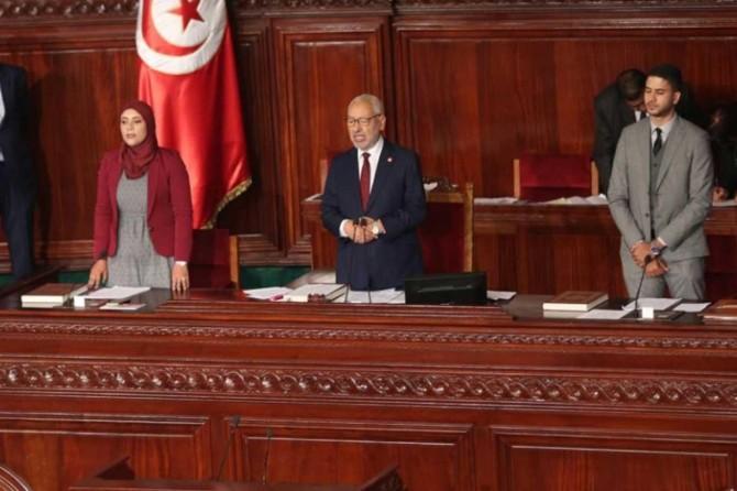 Tunus'un meclis başkanı Gannuşi oldu